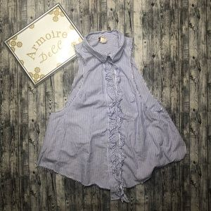 ⚡️We the Free Button Down Blouse